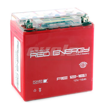 Red Energy RE12-16.1 (YTX16-BS 16А/ч) зал.