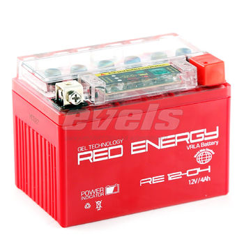 Red Energy RE12-04 (YTX4L-BS 4А/ч)